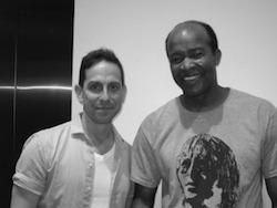 Got to meet Leon Addison Brown, fan to fan!